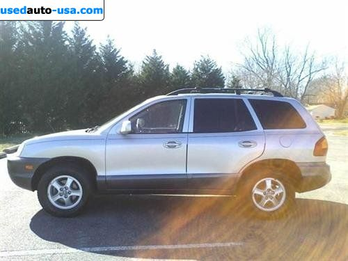 Car Market in USA - For Sale 2004  Hyundai Santa Fe Fe GLS