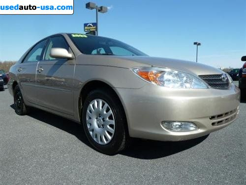 For Sale 2003 Passenger Car Toyota Camry 4dr Sdn Xle Auto