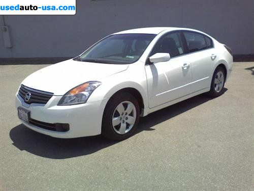 For Sale 2008 passenger car Nissan Altima 2.5 S Sedan 4D ...