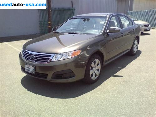 Car Market In USA   For Sale 2009 KIA Optima LX Sedan 4D ...