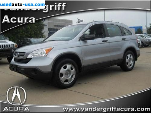 For Sale 2008 Passenger Car Honda Cr V 4wd 5 Door Lx