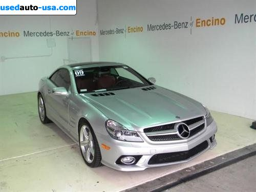 For sale 2009 passenger car mercedes sl benz v8 encino for Mercedes benz insurance cost