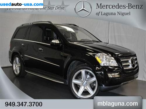 For sale 2010 passenger car mercedes gl benz 5 5l laguna for Mercedes benz insurance cost