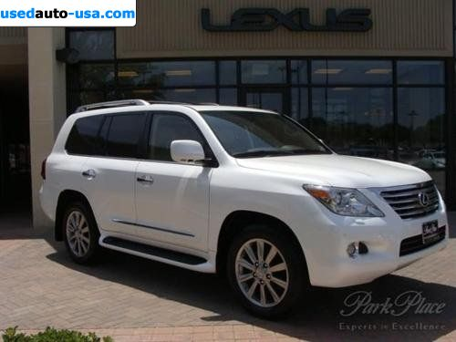 Lexus Of Plano >> For Sale 2009 passenger car Lexus LX 570 570 ULTIMATE FULL SIZE SUV, Plano, insurance rate quote ...