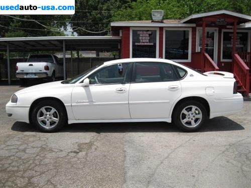 for sale 2004 passenger car chevrolet impala ls south houston insurance rate quote price 8488. Black Bedroom Furniture Sets. Home Design Ideas