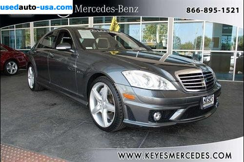 For sale 2008 passenger car mercedes s benz 6 3l v8 amg for Mercedes benz insurance cost
