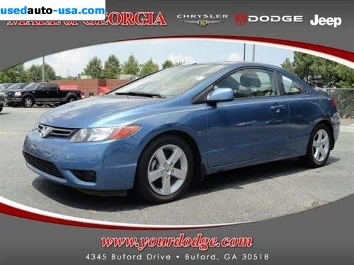 for sale 2006 passenger car honda civic coupe ex buford insurance rate quote price 10999. Black Bedroom Furniture Sets. Home Design Ideas