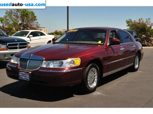 For Sale 2000 Passenger Car Lincoln Town Car Car Tier Vacaville