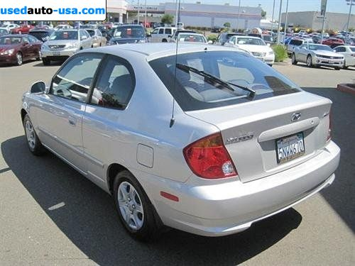 for sale 2005 passenger car hyundai accent gs roseville. Black Bedroom Furniture Sets. Home Design Ideas