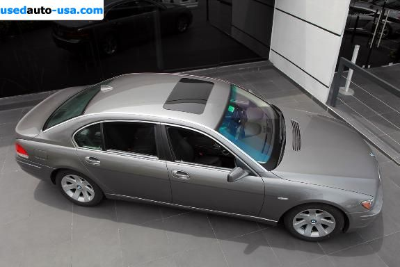 Car Market in USA - For Sale 2007  BMW 7 Series