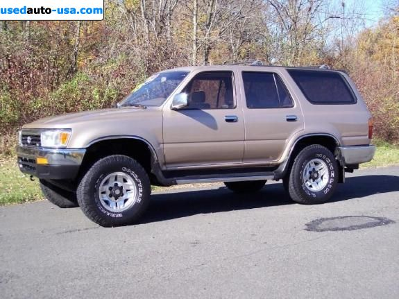 for sale 1995 passenger car toyota 4runner insurance rate quote price 3200. Black Bedroom Furniture Sets. Home Design Ideas