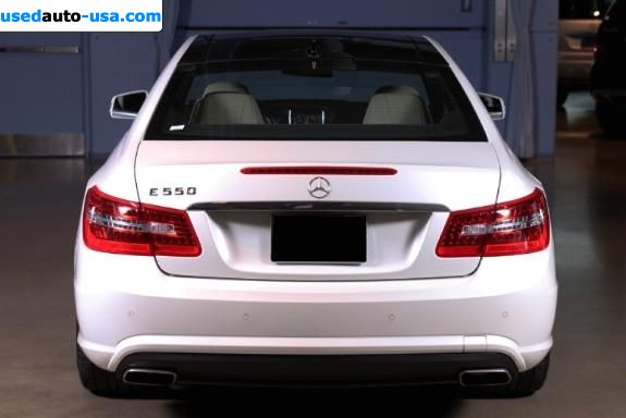 Car Market in USA - For Sale 2010  Mercedes E