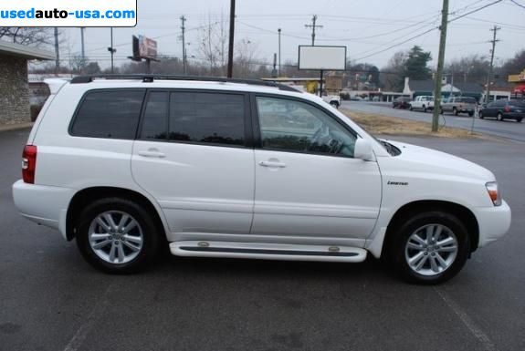 For Sale 2006 passenger car Toyota Highlander Hybrid ...