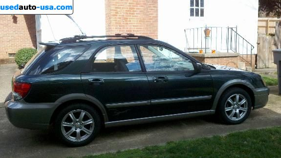 Car Market in USA - For Sale 2005  Subaru SUBARU